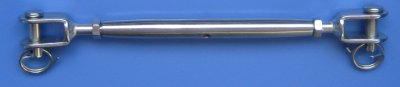 Model : 024-5-32 Closed Turnbuckle - Jaw to Jaw for 3.2mm wire